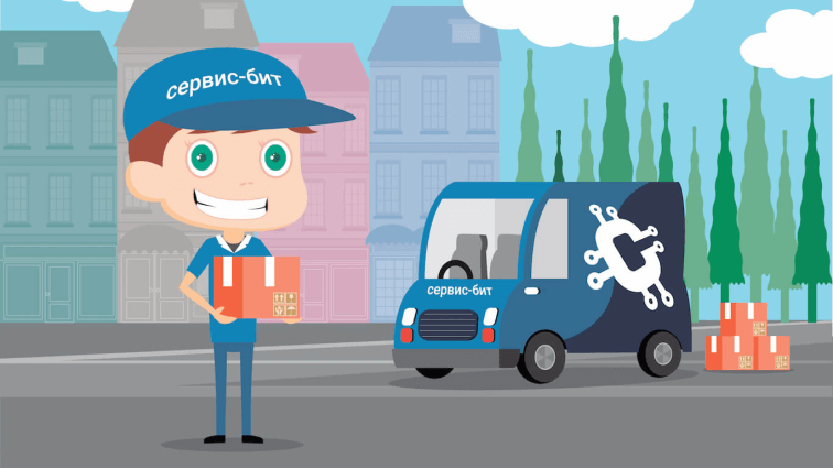 Delivery Courier | Сервис-Бит